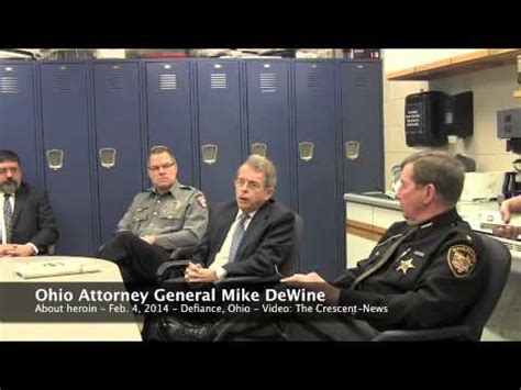 office of the ohio attorney general collections enforcement section ohio attorney general mike dewine on heroin issues in the
