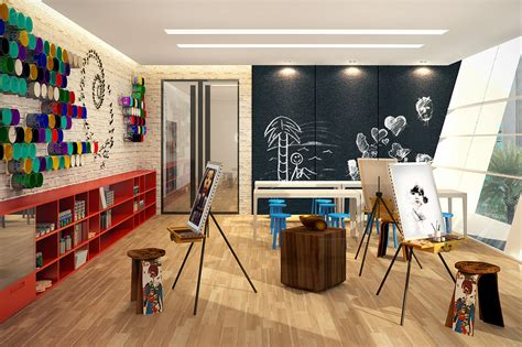 art and craft studio amenities commonwealth by century property investment