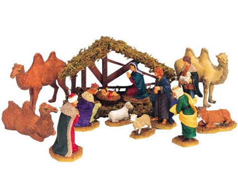 lemax village collection nativity set of 14 33410