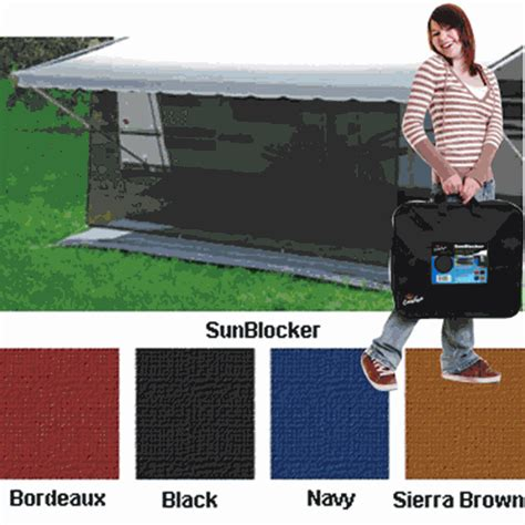 rv awning sun blocker rv superstore canada sunblocker 6x10ft black