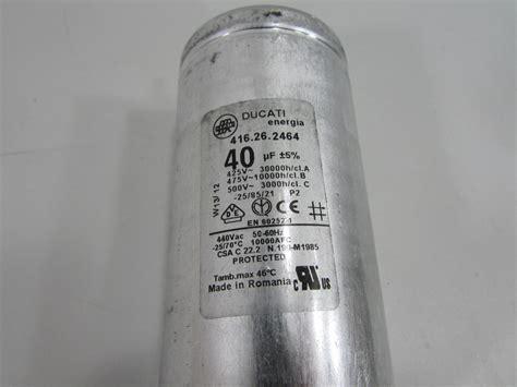 kapasitor ducati ducati capacitor en60252 28 images ducati energia capacitor en60252 1 450v 50 60hz 40uf 5