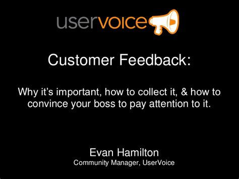 How To Convince Your Employer To Pay For Your Mba by Why Customer Feedback Is Important How To Collect It And