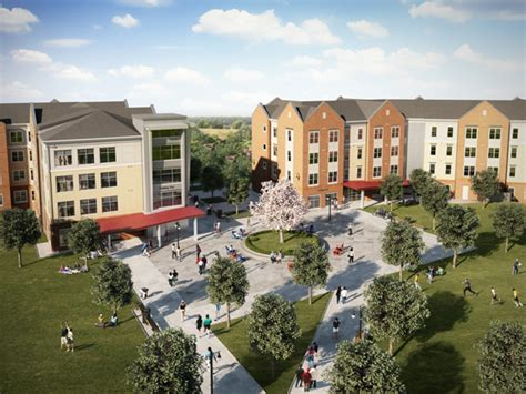 Cus Apartments Completes Phase Ii Of New Student Housing Construction At