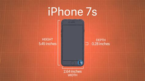 7 iphone size exclusive iphone 7s and iphone 7s plus dimensions leaked