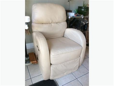off white leather recliner rv swivel recliner off white leather victoria city victoria
