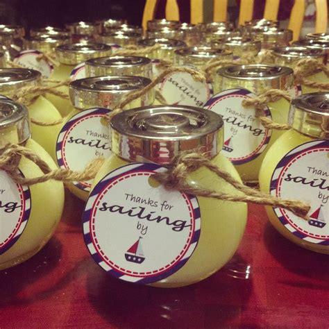 nautical themed baby shower favors lemon sea salt favors for a nautical themed baby