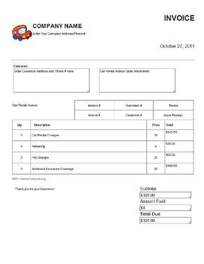 To Let Template by Rent Invoice Template Printable Invoice Template