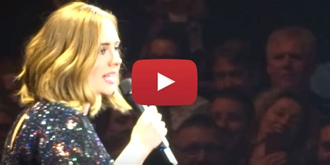 all i ask adele adele sings through another technical failure during quot all