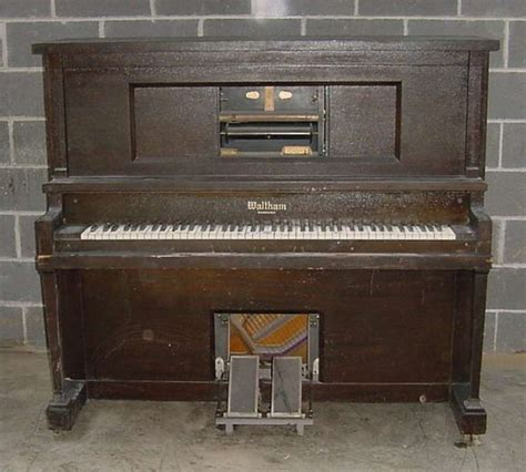 player piano waltham player piano antique piano shop