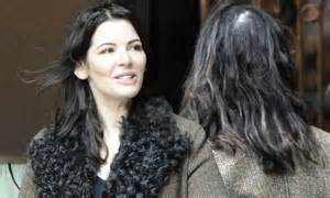 hairstyles for women with thinning crown nigella lawson shows off thinning hair during date with