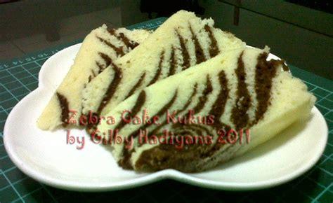 Panci Kukus Zebra gilby s cake and cookies zebra cake kukus