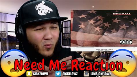 eminem need me eminem need me feat p nk reaction youtube