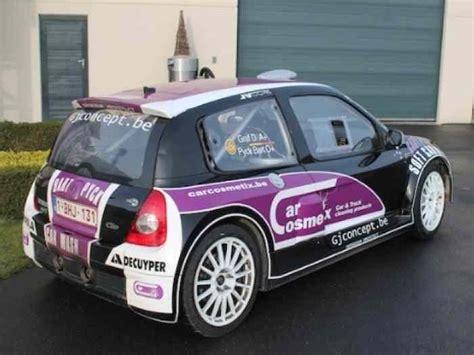 renault clio rally car rally car renault clio v6 for sale pi 232 ces et voitures de