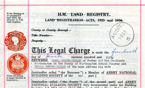 Brit Does A Deed by Sts Charge Part Of A Document