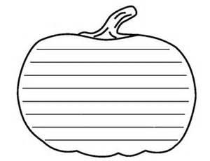 simple pumpkin writing template teaching ideas pinterest