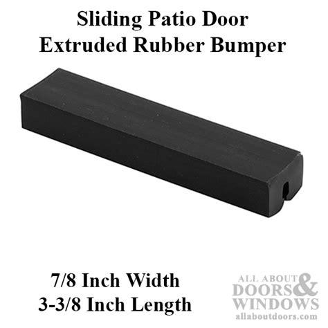 Sliding Glass Door Stop Sliding Glass Door Bumpers Sliding Door Bumpers All About Doors