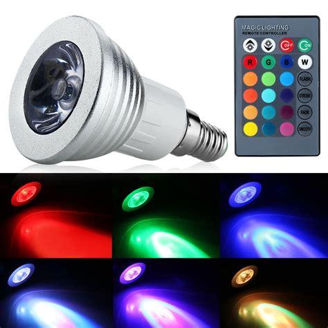 newest led light bulbs newest rgb led bulb e14 3w led l light led spotlight