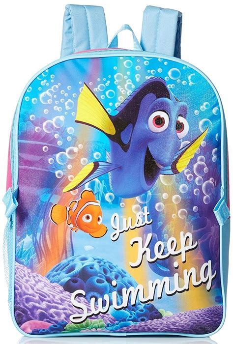 just keep swimming dory backpack and lunchbag a mighty