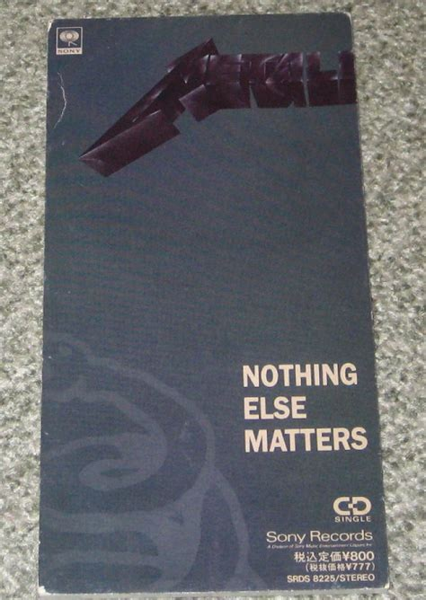 else matters metallica nothing else matters records lps vinyl and cds
