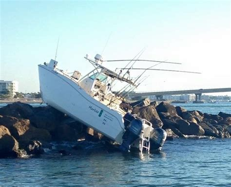 mexican fishing boat accident four seriously injured in boat crash at perdido pass al