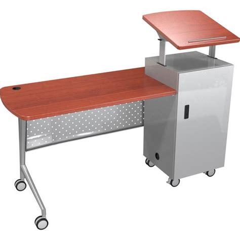 Lectern Desk by All Trend Podium Desk By Balt Options Desks