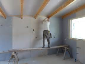Ceiling Gib gib plasterboard lining installed martinborough musings