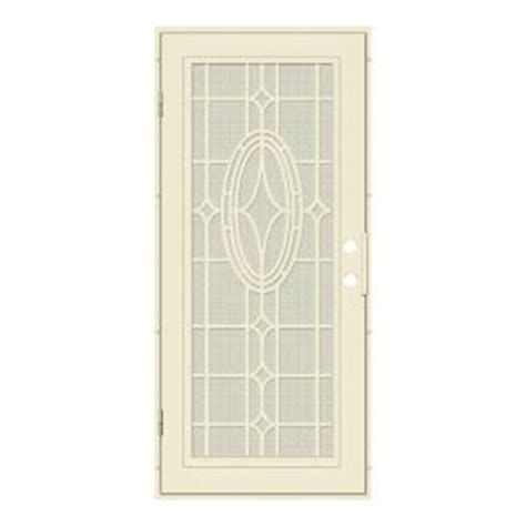 home depot security doors unique home designs 36 in x 80 in modern cross beige