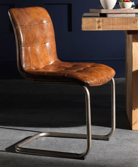 vintage button leather dining chair in 2019 dining room