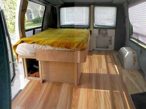 Floor   Cargo Van Conversion