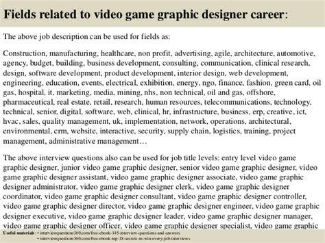 game design interview questions top 10 video game graphic designer interview questions and