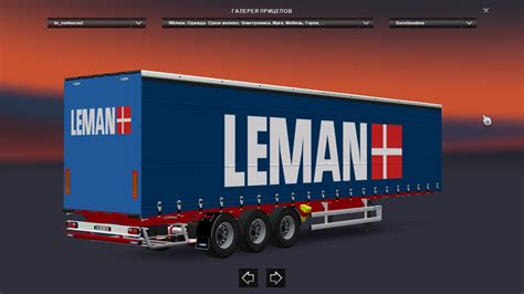 narko curtainsider trailers pack euro truck simulator  mods