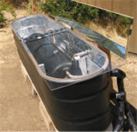 solar panel stock tank heater solar water heating projects and plans