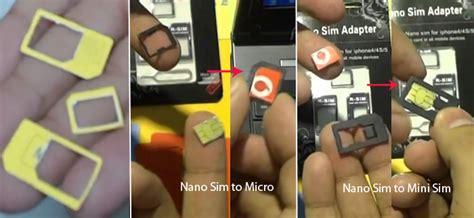 how to make sim card into micro sim template converting mini sim to nano sim card and nano back to