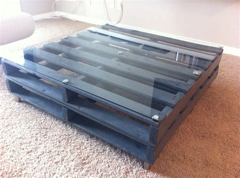 wood pallet coffee table repurposing wood pallets