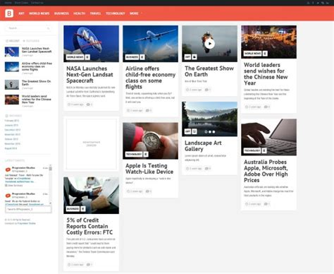 news aggregator template the best aggregator themes for wp rss aggregator