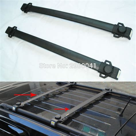 2012 Jeep Patriot Roof Rack Cross Bars by 2x Aluminium Abs Car Styling Accessory Roof Rack Cross
