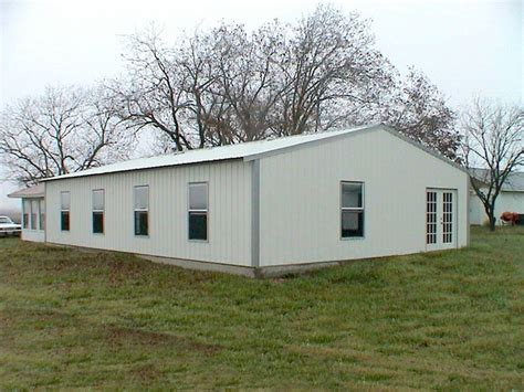 metal building homes ohio steel construction