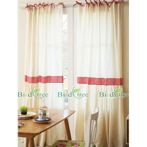 red and white plaid curtains dreamy white and red solid plaid country curtains