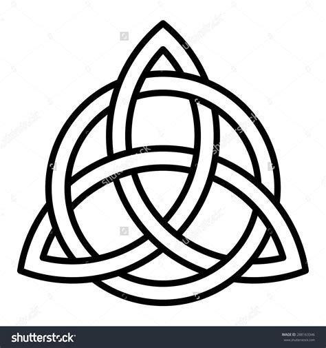 celtic design elements vector free celtic trinity knot clipart 81