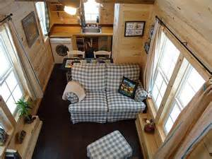living room dining kitchen tiny house interiors