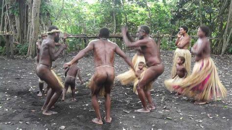 Vanuatu Kastom Naked Dancers Sing Byebye Whitie Youtube
