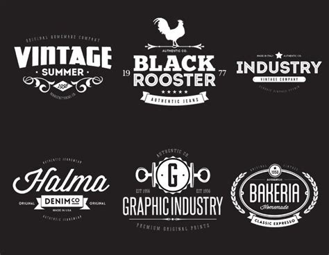 retro logo template psd 17 best images about logos on vintage labels