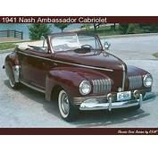 1941 Nash Ambassador Cabriolet  Vehicles Rambler