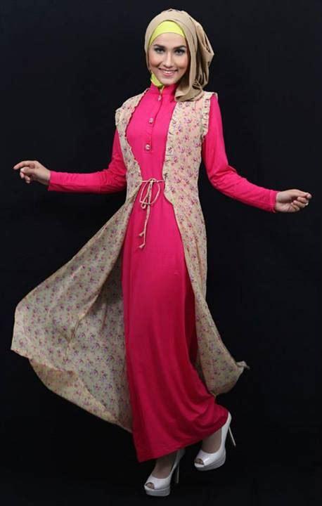 New Gamis Oki Rayon Fanta busana muslim koleksi terbaru