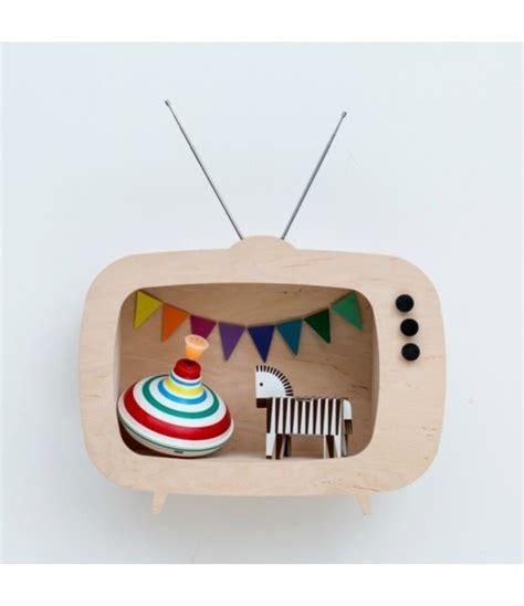 mensole tv mensola a tv legno la cameretta di pippi