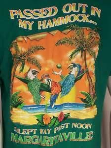 jimmy buffet merchandise margaritaville jimmy buffett t shirt mens sz l out