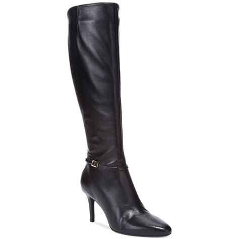 womans dress boots cole haan s garner wide calf dress boots in