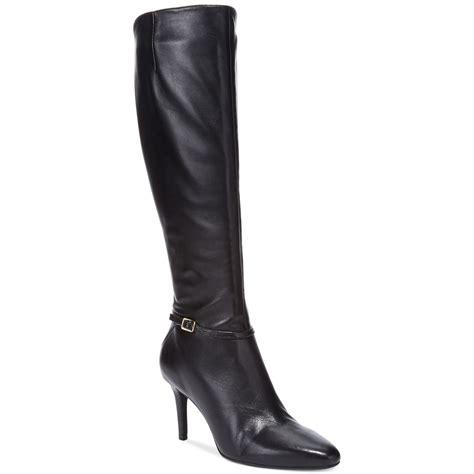wide dress boots for cole haan s garner wide calf dress boots in