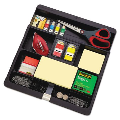 3m Desk Organizer 3m C71 Post It Recycled Plastic Desk Drawer Organizer Tray