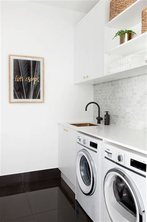 Laundry Design The Block | the block 2016 laundries contemporary laundry room